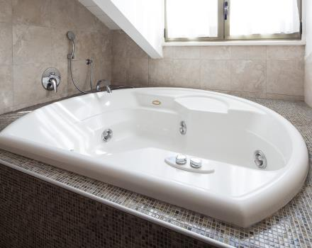 Room with Jacuzzi for a 4-star stay at Crystal Palace Hotel in Turin