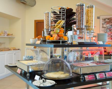 Enjoy a rich and genuine breakfast at the Best Western Crystal Palace Hotel in Turin